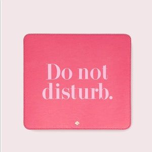 NWT Kate Spade New York Do Not Disturb Mouse Pad